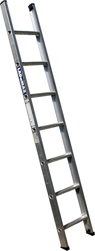 ladders we use for our flat roofing work