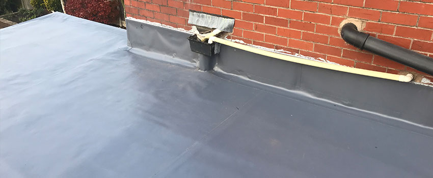 Finished flat roof overlay