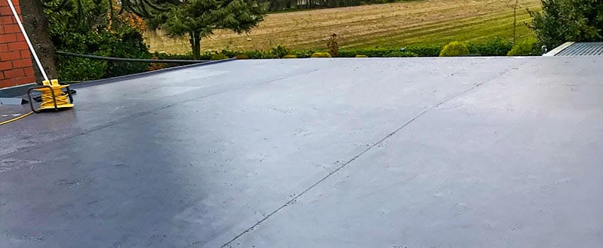 flat roofing project maghull